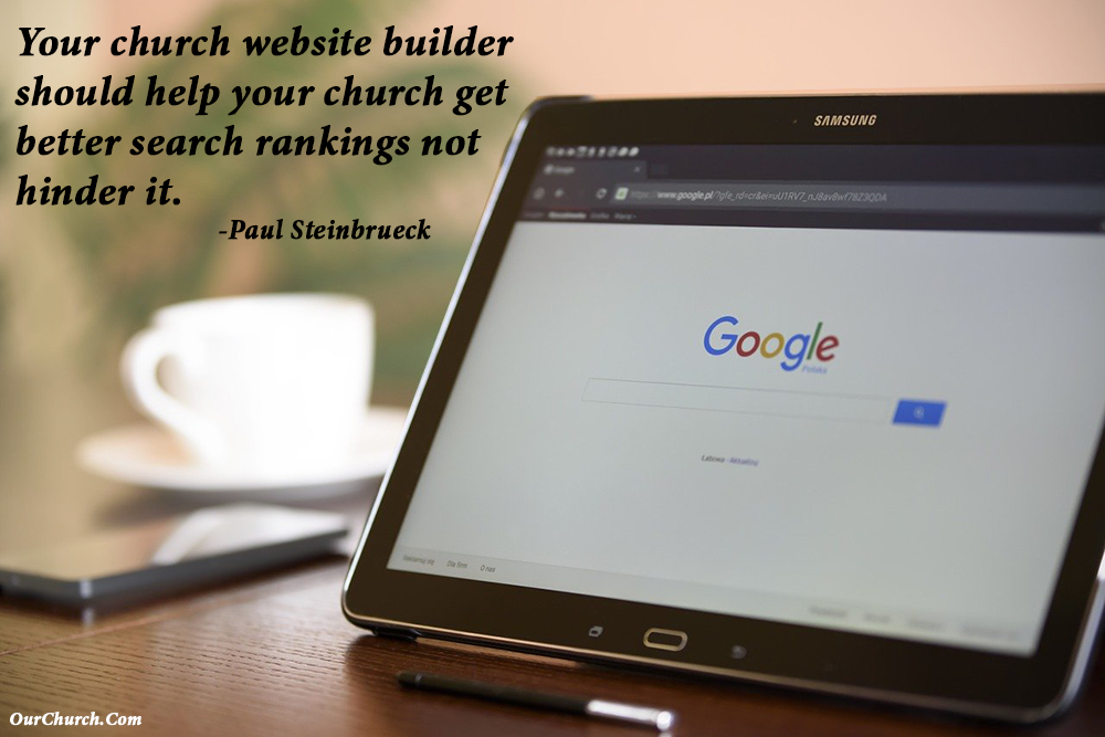 SEO-Friendly Church Website Builder
