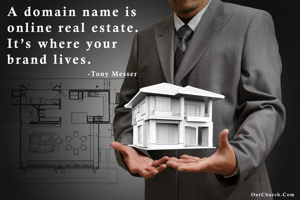 quote domain name online real estate