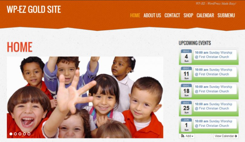 tisa orange children theme