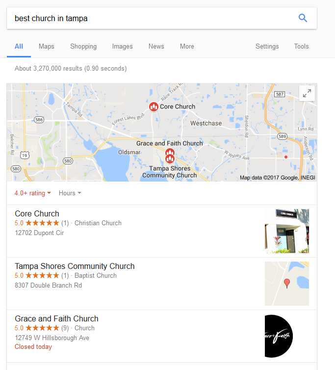 best-church-in-tampa-search-results