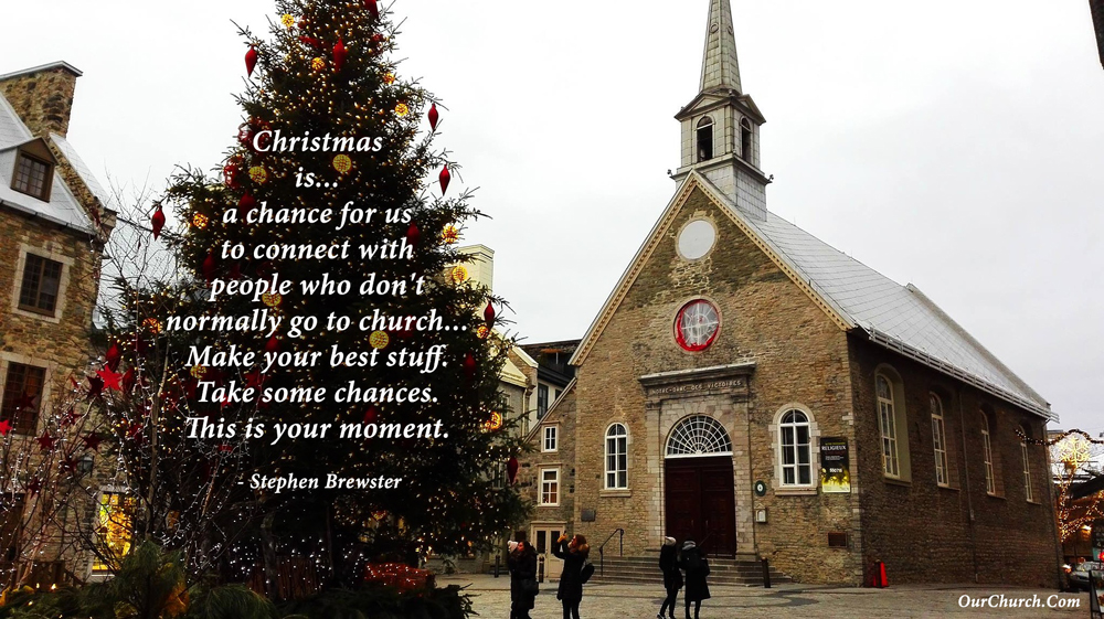 5 Online Christmas Church Outreach Ideas - Church Websites, Church ...