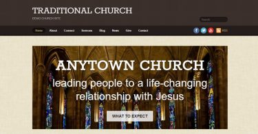 traditional-church-wordpress-theme