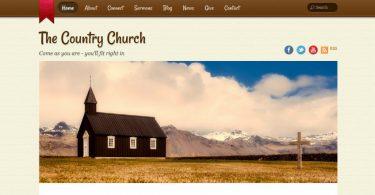 country-church-wordpress-theme