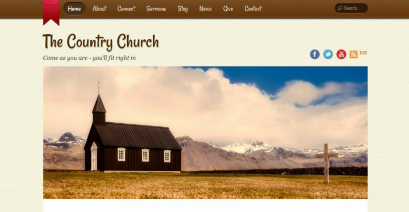country-church-wordpress-theme