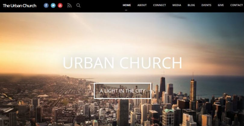 Urban Church Website Theme