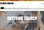 creative church wordpress theme