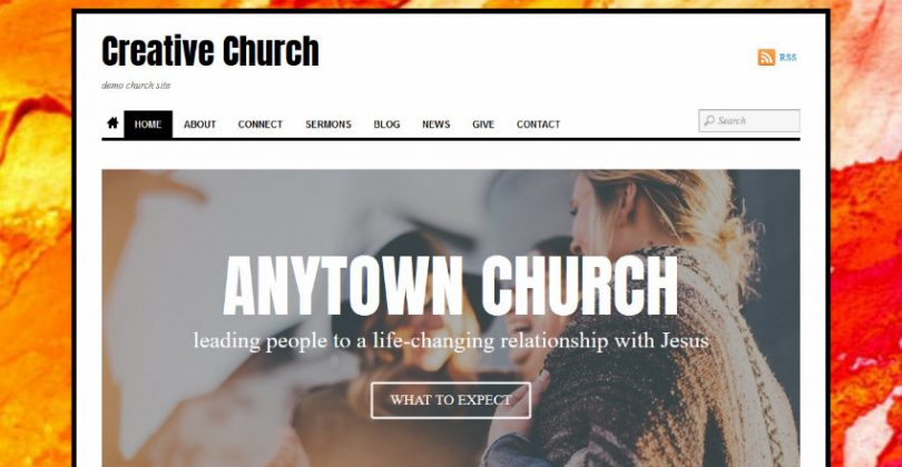 creative church wordpress theme