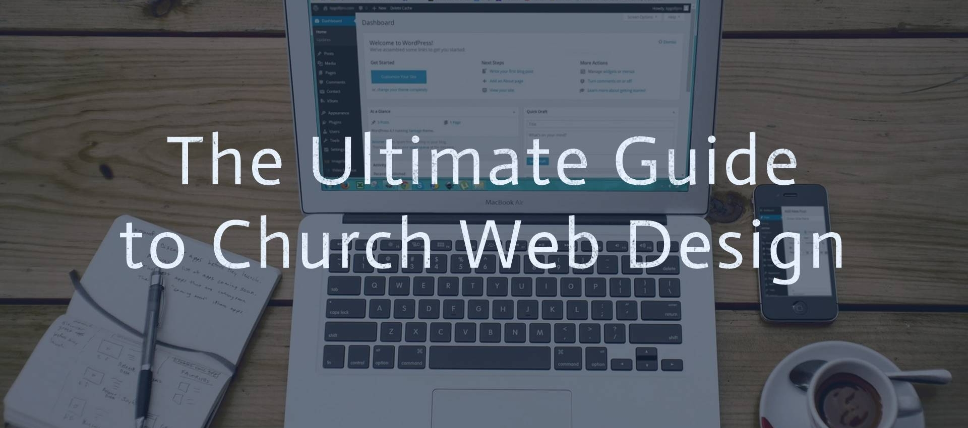 ultimate guide to church web design