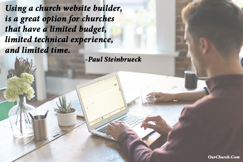 Church Website Builder Tips and Tools