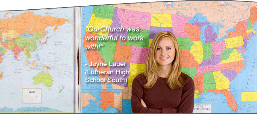 Christian school website design