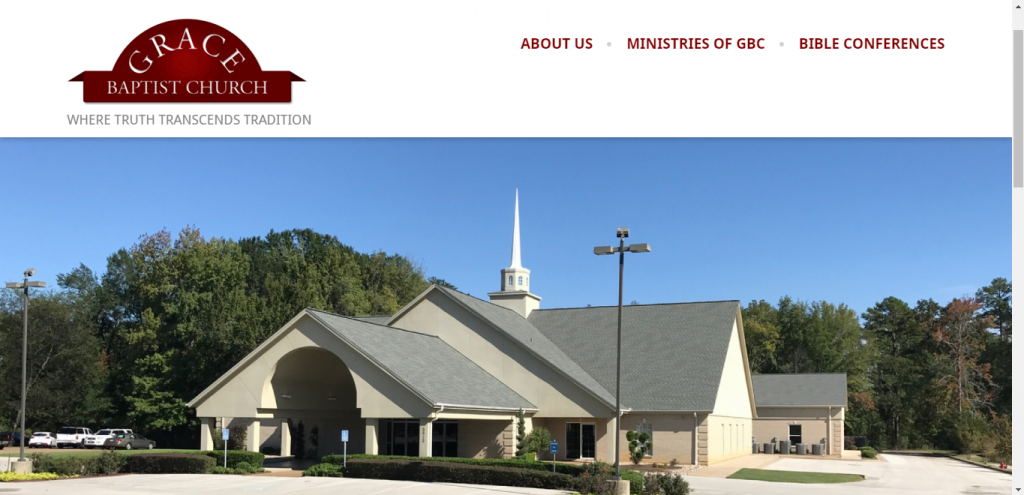 Grace Baptist - Best church website designs