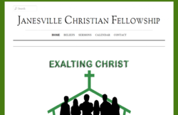 WP-EZ Feature Site - Janesville Christian Fellowship, Janesville, CA