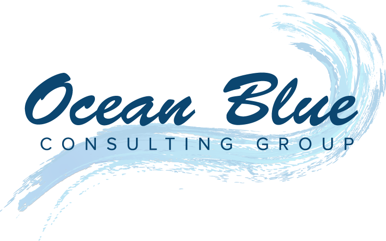 business logo design – Ocean Blue Consulting Group