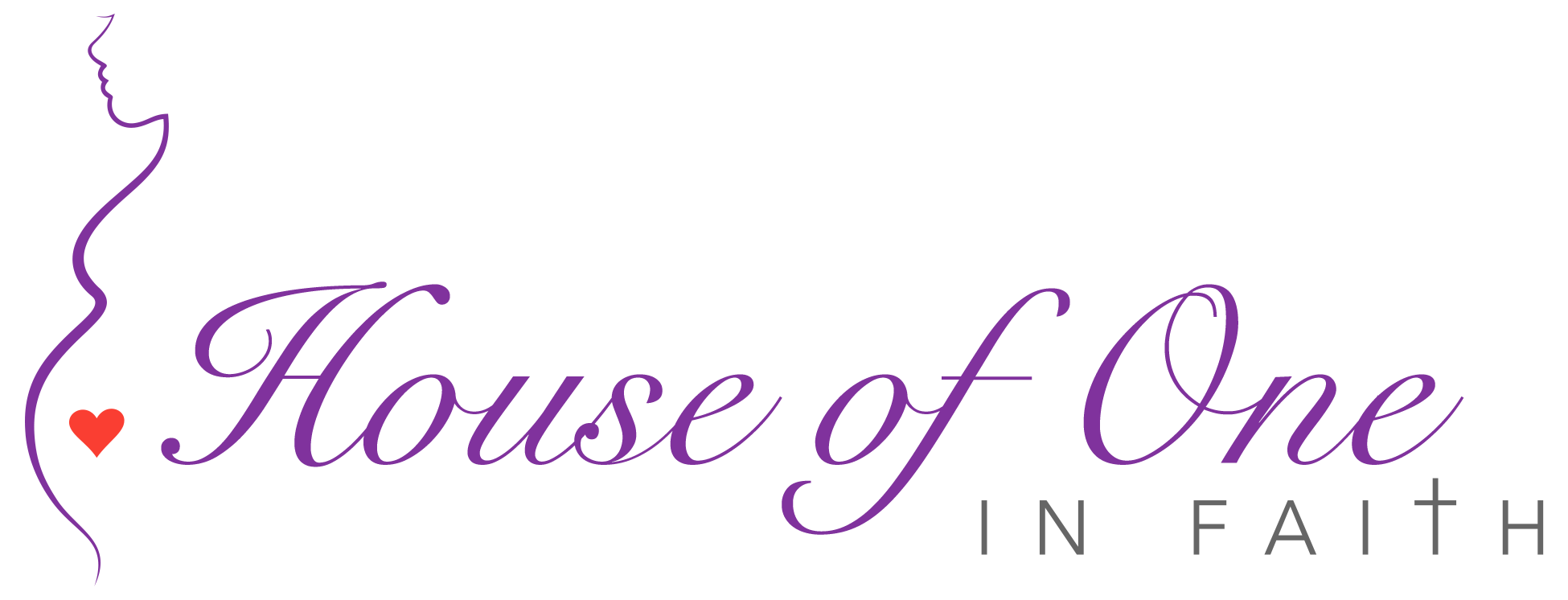 ministry logo design – House of One in Faith