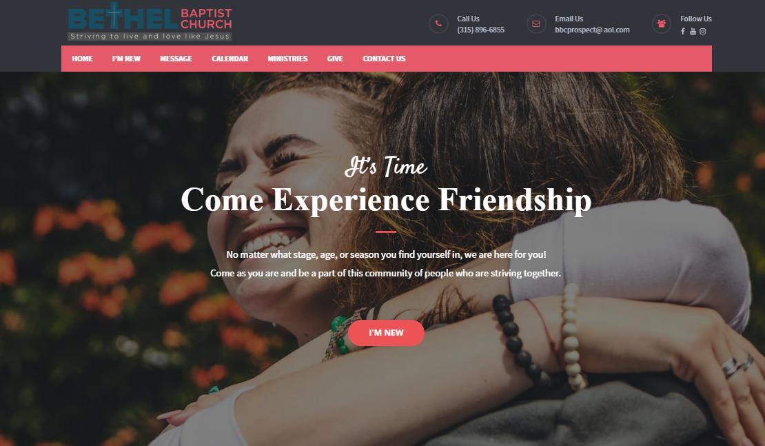 bbc-ss - best church website designs