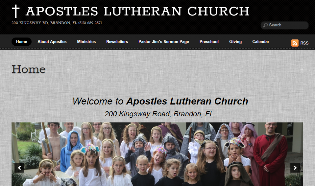 Apostles Lutheran Church – Brandon, FL